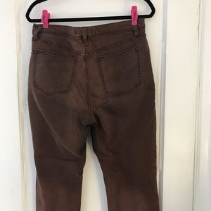 Free People Jeans - Free People Burnished Redwood Brown Jeans